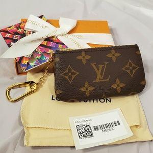 Brand new authentic Louis Vuitton key pouch